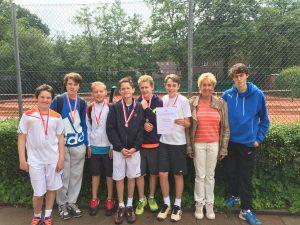 tennis_HLG Endspiel HH Schulmeisterschaft Bild