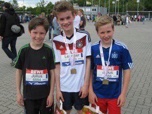 zehntel medaillen hlg 2014