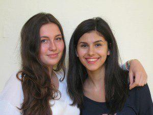 Patinnen der 5a sind Sophie (10b) und Melisa (10d) 001