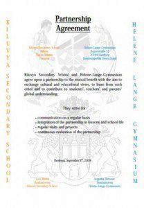 partnerschaftsurkunde hlg-tansania