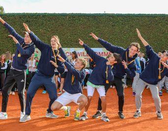 Das HLG Tennisteam rockt das Bundesfinale und ist als Deutscher Meister für die WM der Schulmannschaften qualifiziert!