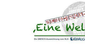 """2013 Die Auszeichnung """"Eine Welt"""""""