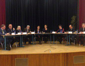 Podiumsdiskussion über die  TTIP