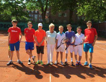 Tennismannschaft des HLG zum dritten Mal in Folge im Endspiel um die Hamburger Schulmeisterschaft!
