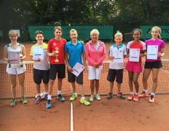 Tennis-Schulmannschaft des HLG gewinnt Hanse-Cup