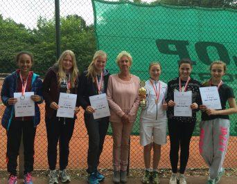 Wieder in Berlin: Die Tennismannschaften des HLG