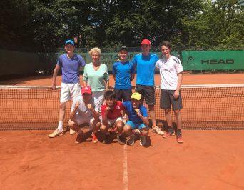 HLG-Tennisteam ist Hamburger Meister 2018 und für das Bundesfinale 'Jugend trainiert für Olympia' qualifiziert!