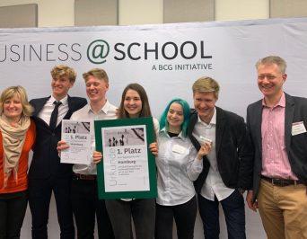 Großer Erfolg beim Regionalentscheid von business@school