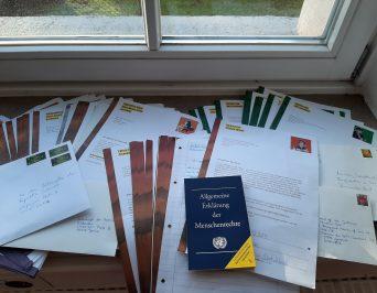 Briefe retten Leben – Briefe für die Menschenrechte